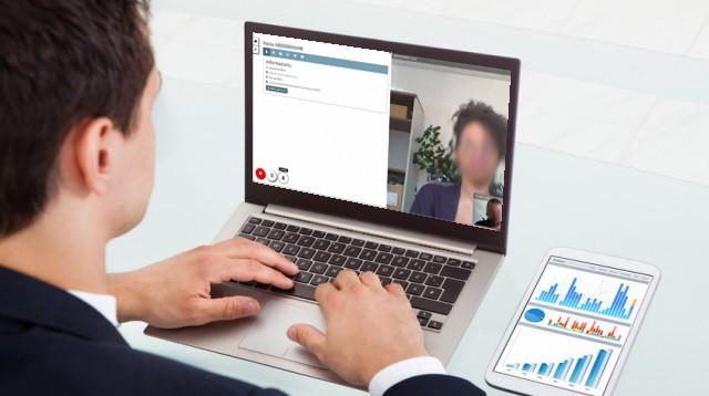 Les raisons d'adopter un outil de visioconférence: Démonstration avec l'écran du logiciel ScopVisio.